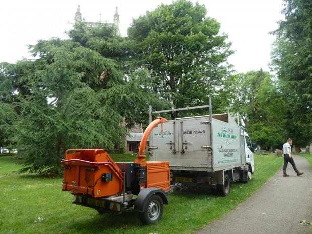 Forestry Journal: Arborcare has a fleet of five new Timberwolf 230 six-inch chippers.