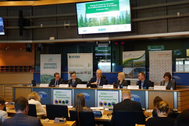 EU event highlights multi-functional role of forests