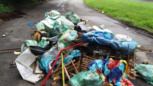 'Huge increase' in fly tipping in UK woodlands during lockdown