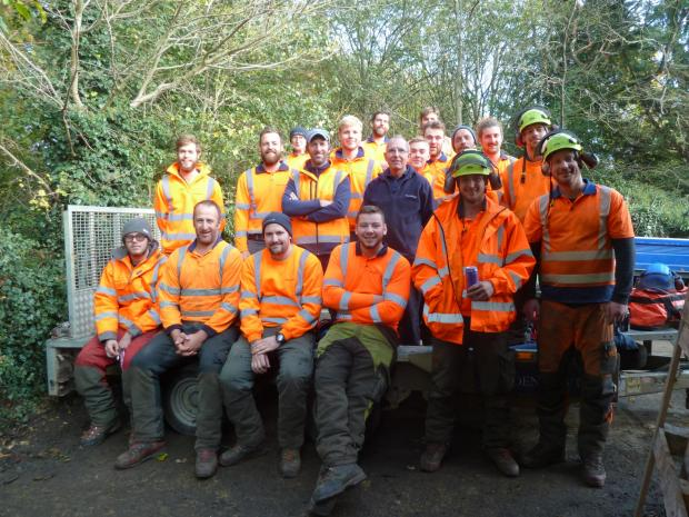 Forestry Journal: The Maydencroft team.