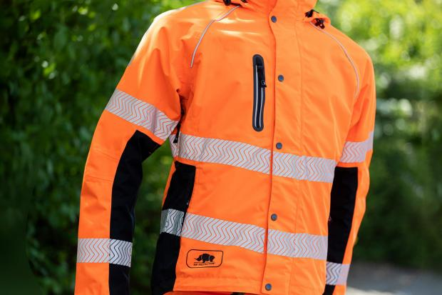 Forestry Journal: SIP Protection has introduced a high-vis version of its Keiu waterproof jacket.