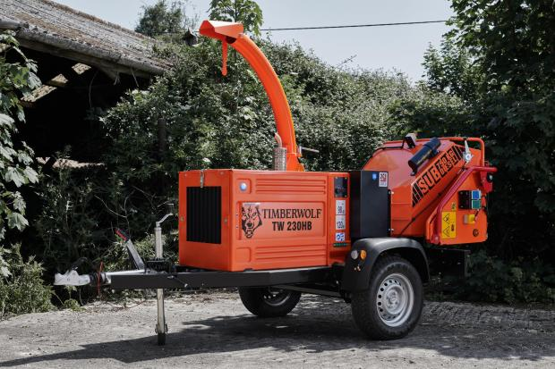 Forestry Journal: 230HB diesel woodchipper.