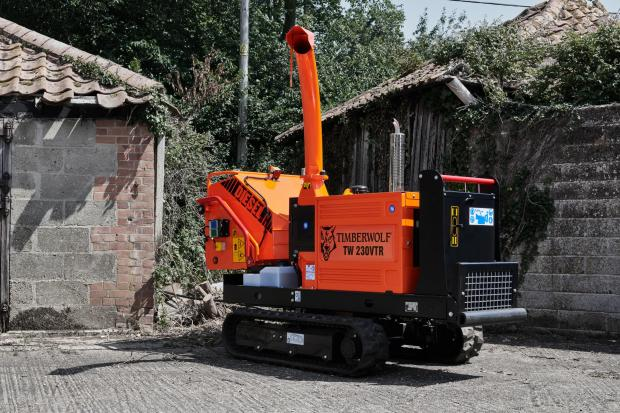 Forestry Journal: 230VTR diesel woodchipper.