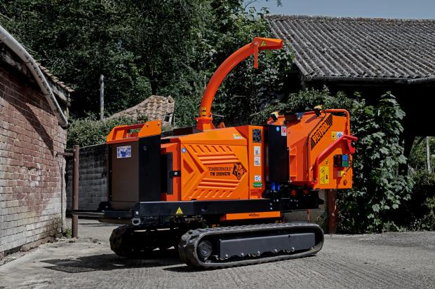 Forestry Journal: 280VGTR woodchipper.