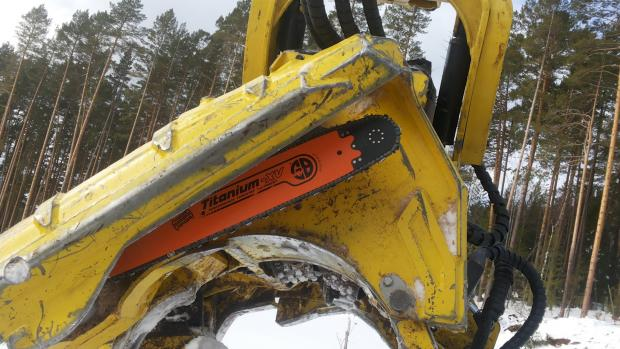 Forestry Journal: The Titanium-XV is the latest in a long line of harvester bars from GB.