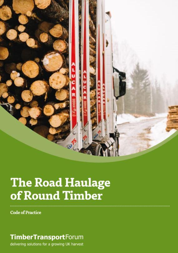 Latest CoP for round timber road haulage published