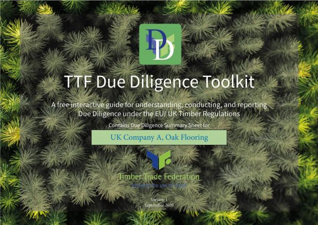Toolkit to help with timber due diligence