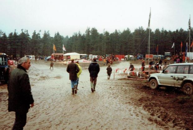 Forestry Journal: 1992 Dalby Forest – our wettest site, where mud flowed like lava.