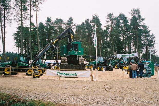 Forestry Journal: Timberjack at the APF in 2002.