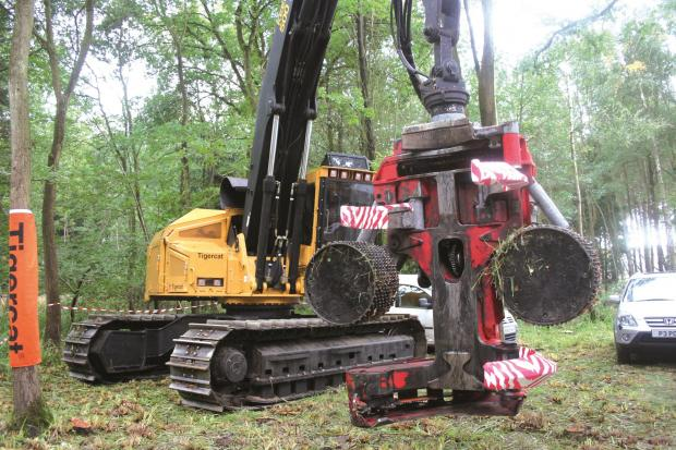 Forestry Journal: Jim Mair brought Tigercat to the APF in 2006.