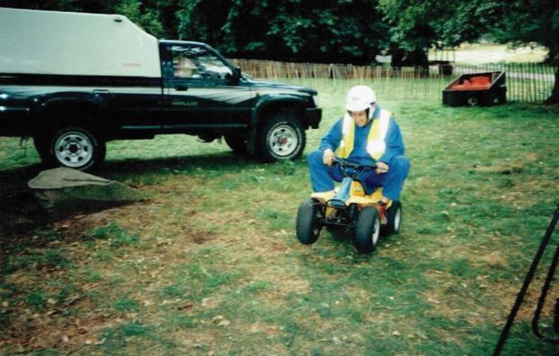 Forestry Journal: 1996. Testing out possible coordinator transport.