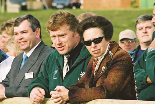 Forestry Journal: The APF in 2002 was opened by the Princes Royal, who stayed to tour much of the show.