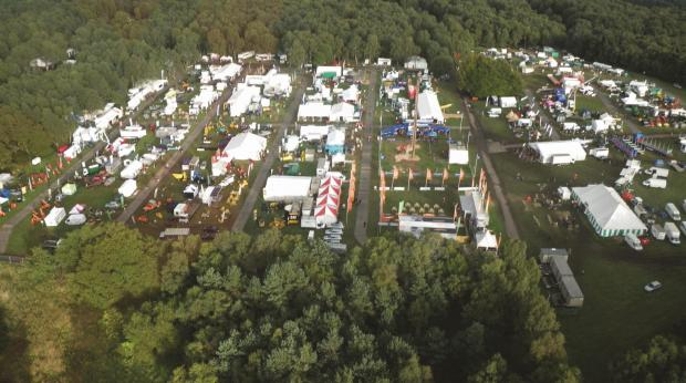 Forestry Journal: 2010. The show returned to Cannock.