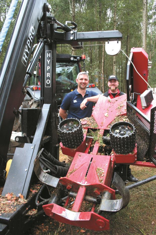 Forestry Journal: 2014. It was a good show for machinery distributor Oakleaf Forestry.